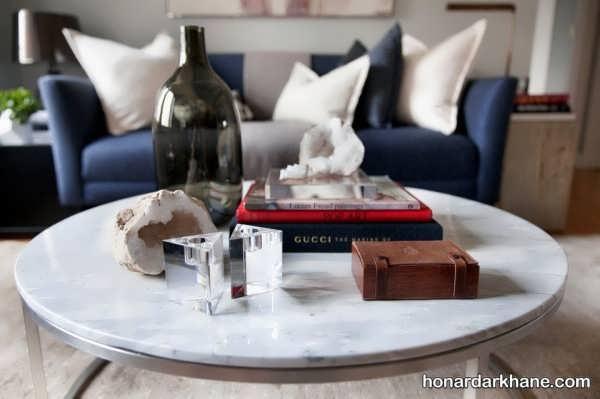 انواع دیزاین جالب و جدید میز جلو مبلی