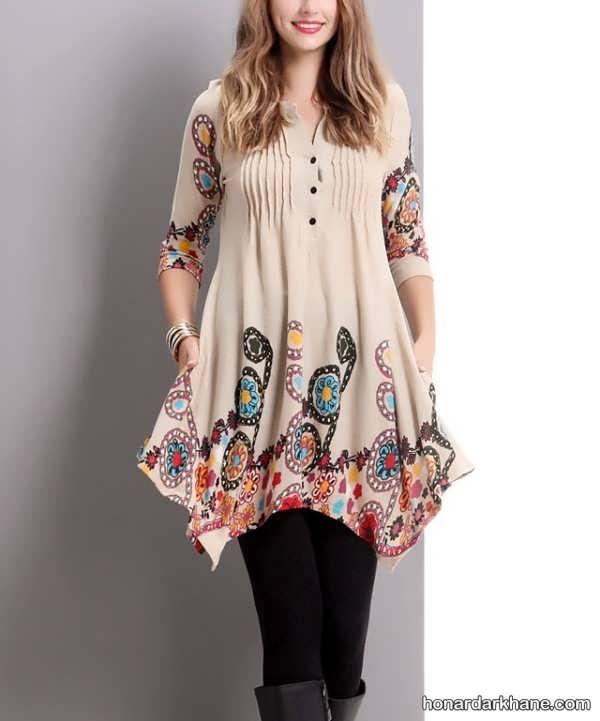 انواع لباس پذیرایی زیبا و شیک برای عید نوروز