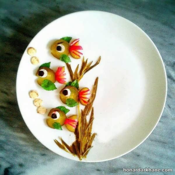 انواع دورچین جدید و زیبا غذا