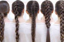 انواع مختلف و جدید بافت مو دخترانه
