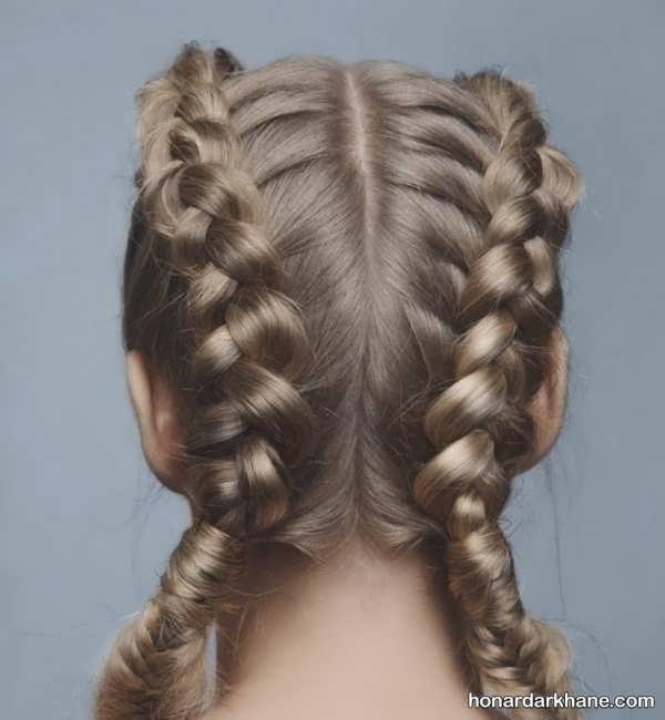 مدل های خاص و زیبا بافت مو دخترانه