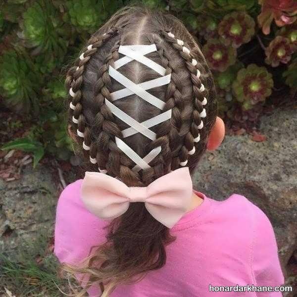 انواع آرایش مو دخترانه در سبک های مختلف
