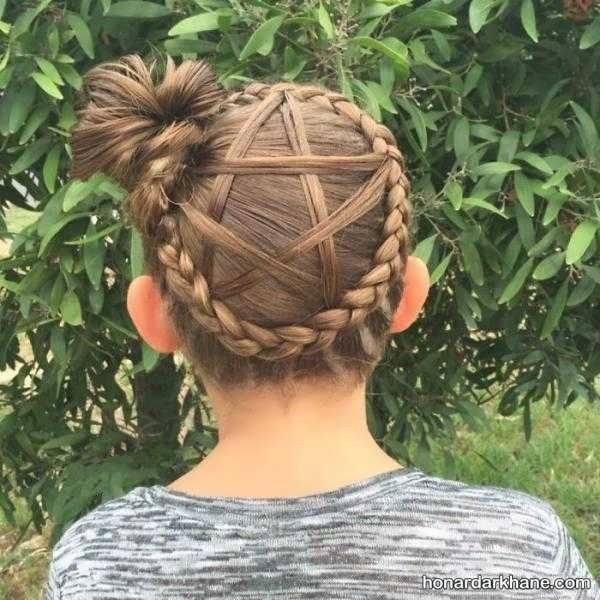 انواع بافت مو بسیار زیبا فرانسوی