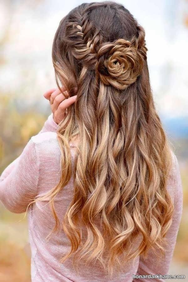 انواع مدل بافت مو دخترانه جدید