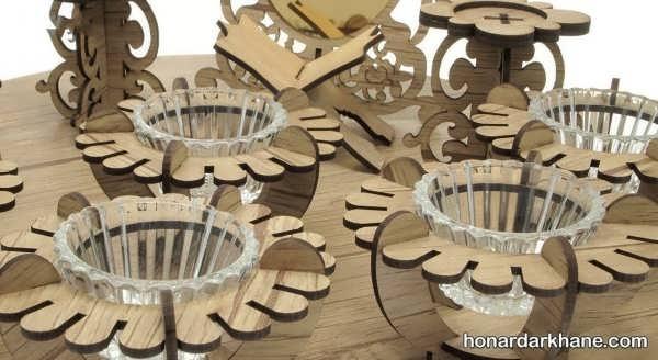 انواع هفت سین با دیزاین چوبی