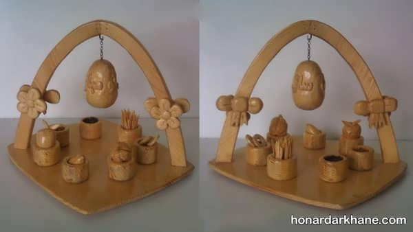 مدل های جدید هفت سین چوبی