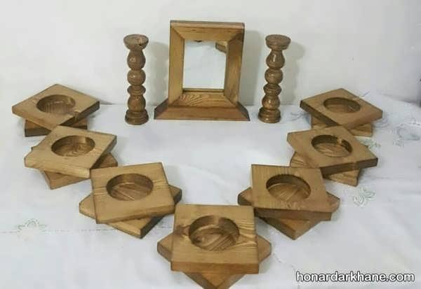 انواع هفت سین زیبا و جذاب چوبی