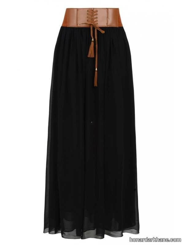 انواع دامن بلند و مجلسی زنانه