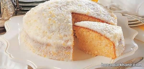 روش تهیه کیک نارگیلی خوشمزه