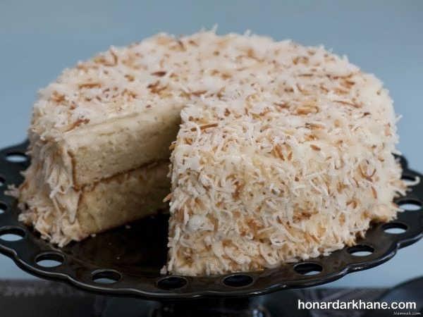 دستور تهیه کیک نارگیلی خوش عطر