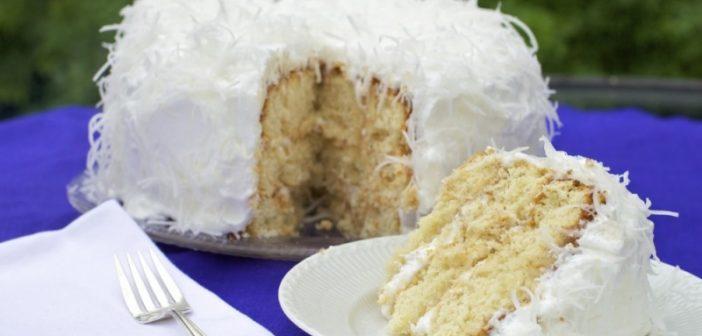 طرز تهیه کیک نارگیلی خوشمزه و خوش طعم