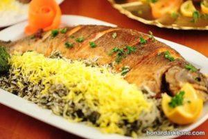 طرز تهیه سبزی پلو با ماهی