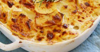طرز تهیه گراتن مرغ و سیب زمینی با روشی آسان