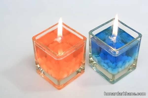 آموزش درست کردن شمع ژله ای