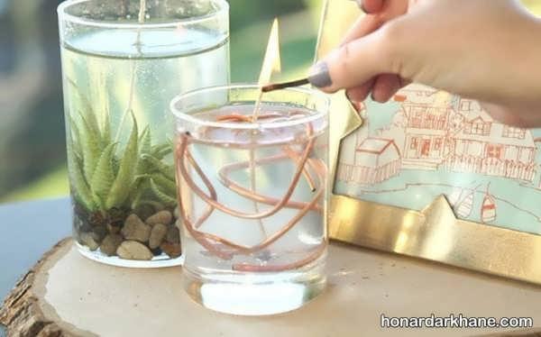 آموزش درست کردن شمع ژله ای شیک