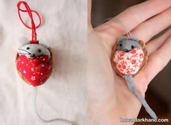 انواع هنردستی به شکل موش