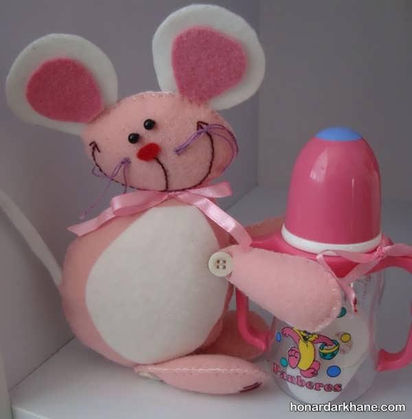 انواع کارهنری جذاب به شکل موش