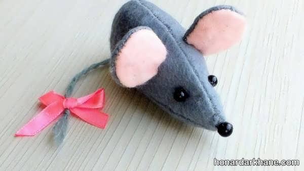 کارهنری به شکل موش با ایده های جالب