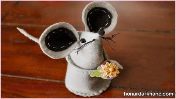 انواع هنردستی زیبا به شکل موش