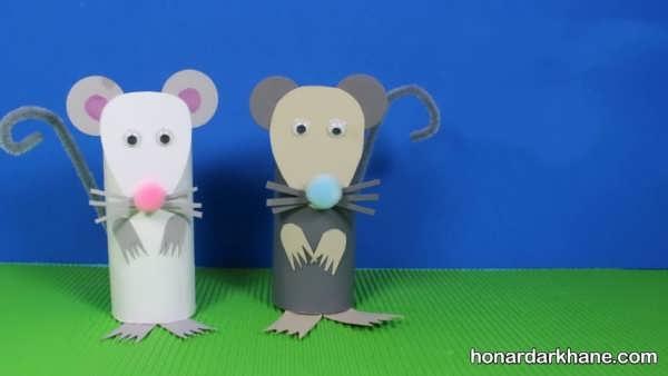 ایده های جذاب برای ساخت هنردستی به شکل موش
