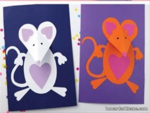 انواع کاردستی موش