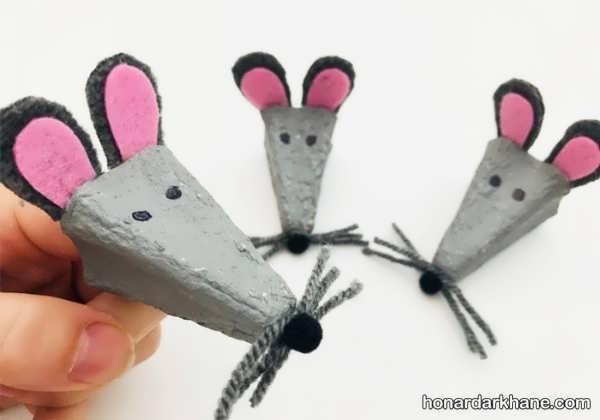 انواع مختلف کاردستی موش