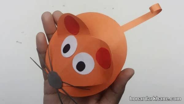 انواع کارهنری به شکل موش