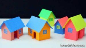 انواع مختلف هنردستی به شکل خانه