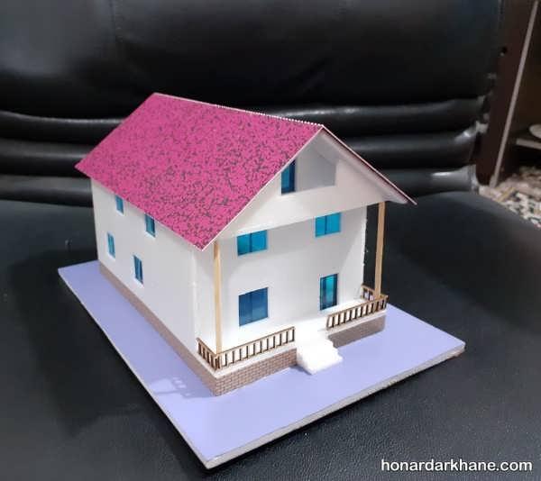 ساخت کاردستی خانه با وسایل مختلف