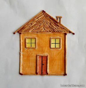 ساخت کاردستی خانه با وسایل در دسترس