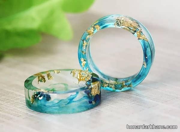 آموزش ساخت جواهرات رزینی در خانه