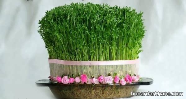 طرز تهیه سبزه هفت سین با عدس