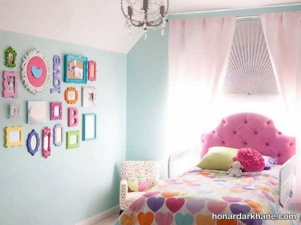 مدل های زیبا دیزاین اتاق خواب کودک