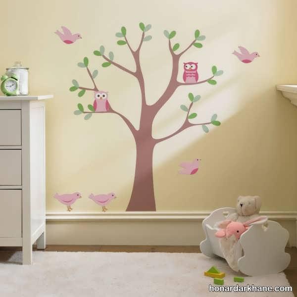 انواع دیزاین جالب اتاق کودک