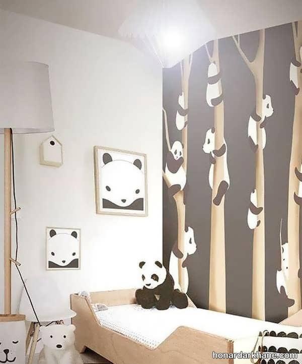 جالب ترین انواع تزیین دیوار اتاق کودک