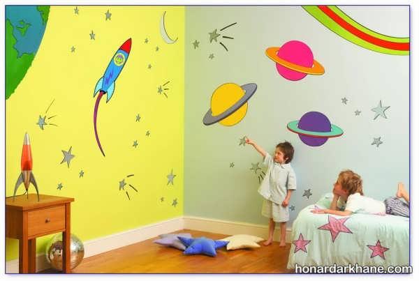 مدل های جدید دکوراسیون اتاق کودک