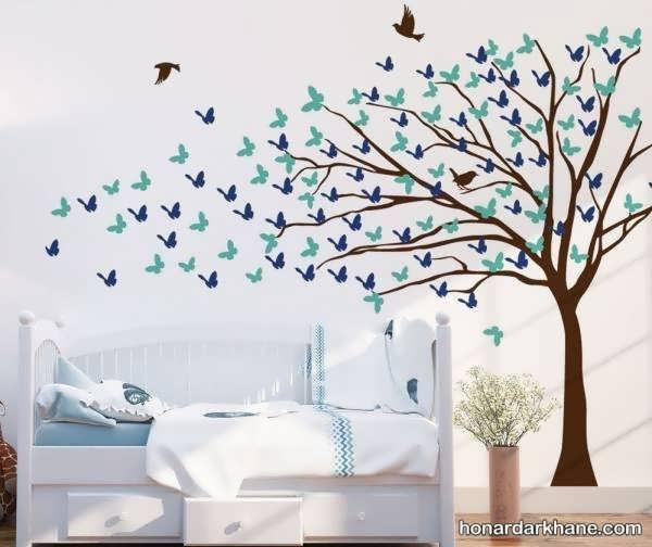 انواع تزیین زیبا و جذاب اتاق کودک
