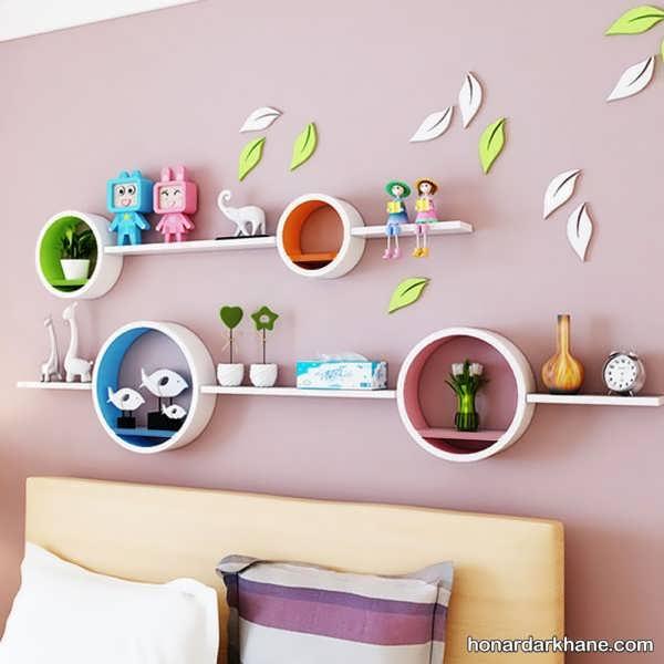 انواع دیزاین زیبا دیوار اتاق کودک