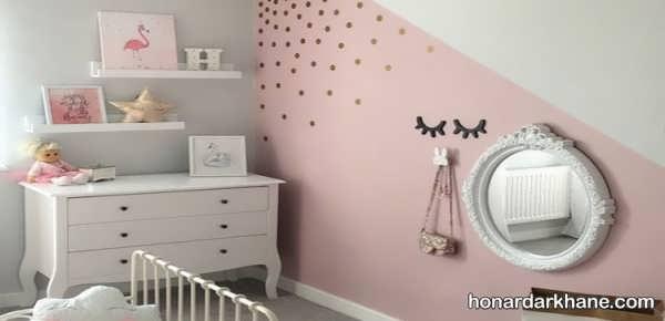 انواع دکوراسیون زیبا دیوار اتاق کودک
