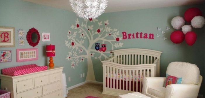 انواع تزیین شیک و جالب دیوار اتاق کودک