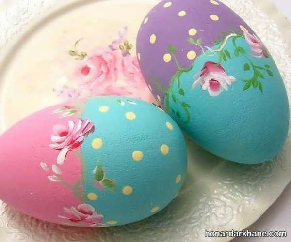 نحوه تزیین تخم مرغ هفت سین
