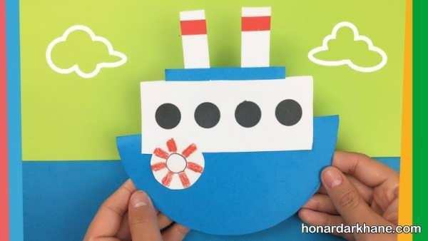 انواع کارهنری به شکل قایق