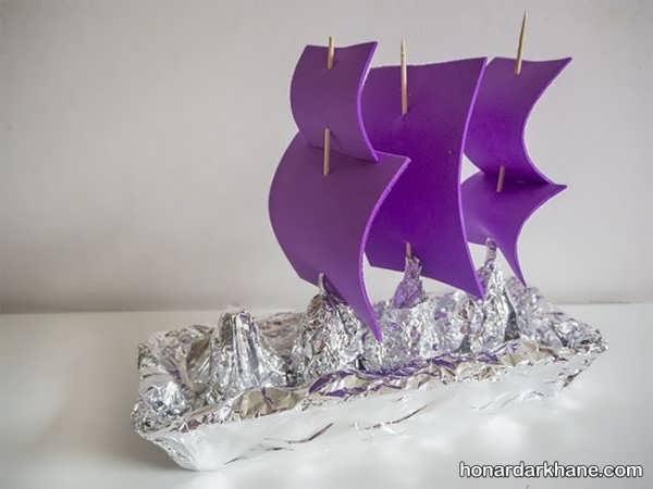 انواع هنر دستی به شکل قایق