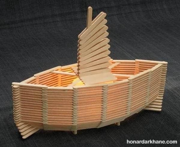 انواع کاردستی قایق به شکل های جالب