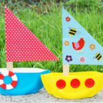 انواع کاردستی قایق با وسایل ساده و مختلف