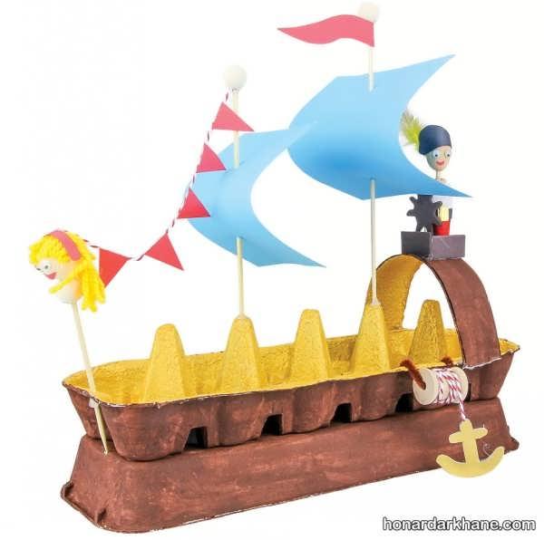 انواع جدید کار هنری به شکل قایق