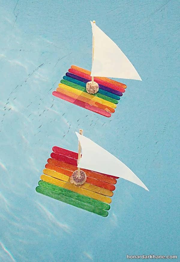 انواع دست سازه زیبا و جذاب به شکل قایق