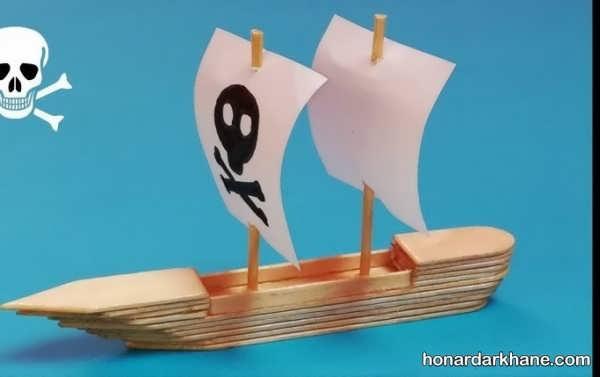 انواع هنر آفرینی به شکل قایق