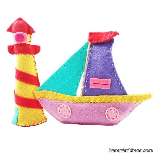 انواع هنر آفرینی جدید و جالب به شکل قایق