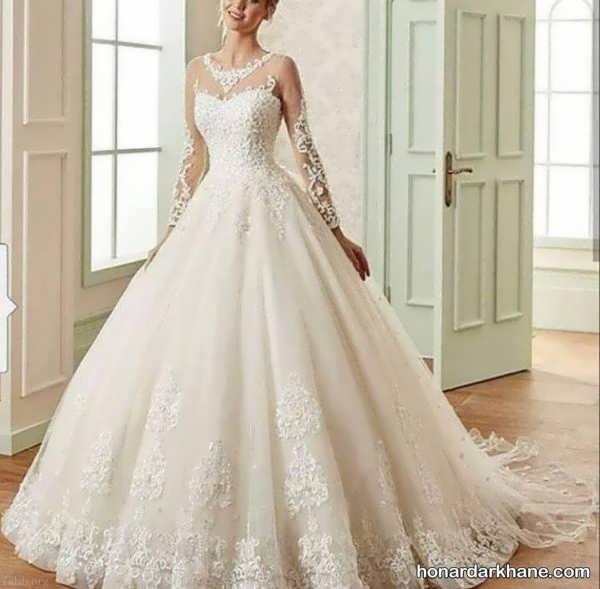 انواع لباس عروس در طرح های متنوع